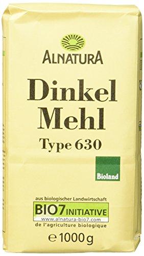Alnatura Bio Dinkelmehl, Type 630, 6er Pack (6 x 1 kg) - 6k Warenkorb