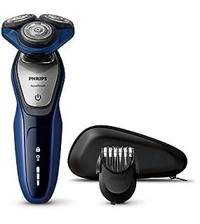 Philips AquaTouch Rasoir électrique Aquatec Wet & Dry avec lames multi-précision, tête Flex 5directions et système de protection de la peau bleu (B013GEUQ4Q) | Amazon Products