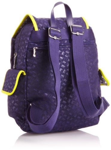 Kipling CITY PACK MM K1250554H Damen Rucksackhandtaschen 32x35x19 cm (B x H x T), Blau (Dark Blue MM) Blau (Dark Blue MM)
