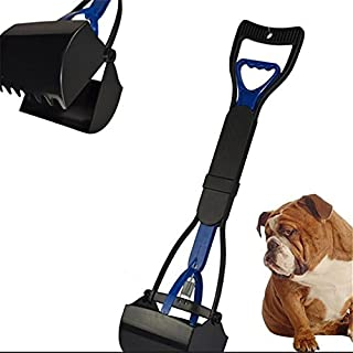amyjazz Dog Pet Pooper Scooper Scoop Clean Pick Up Waste - Blue