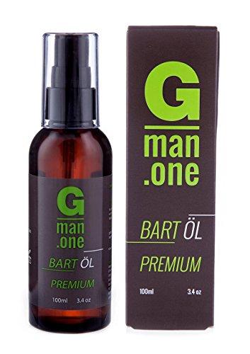 Gman.one Bartöl 100ml - hochwertiges Bart Öl - hergestellt in Marokko. Nur marokkanische Öle für die Bartpflege.
