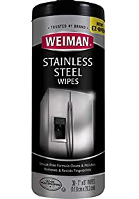 Weiman Stainless Steel Wipes - Pack of 30