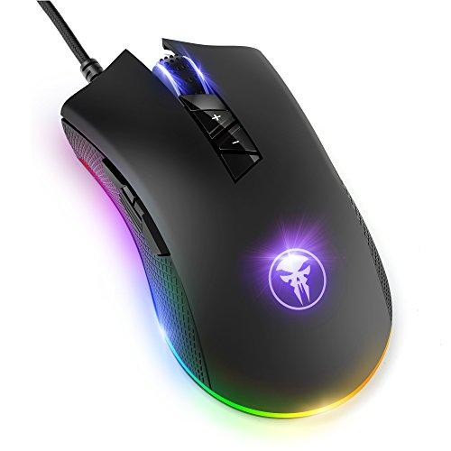 YockTec RGB Retroiluminación Ratón Gaming...