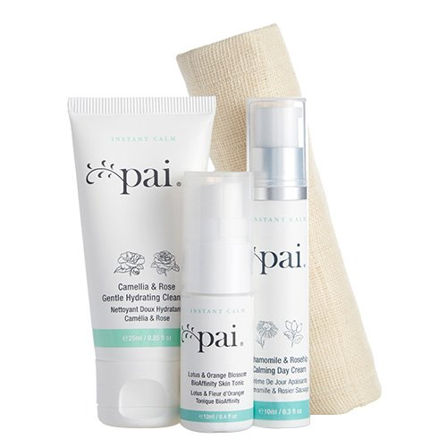 Pai Skincare Anywhere Essentials Instant Calm Travel Collection