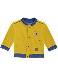 Mini Klub Boys Front Button Open Jacket with Full Sleeves
