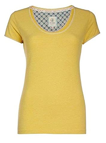 PiP Studio Damen Shirt Hemdchen Kurzarm Rundhals leicht tailliert FARBWAHL,