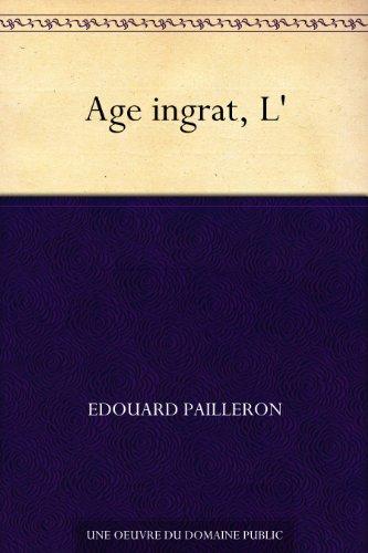 Lire Age ingrat, L' epub, pdf