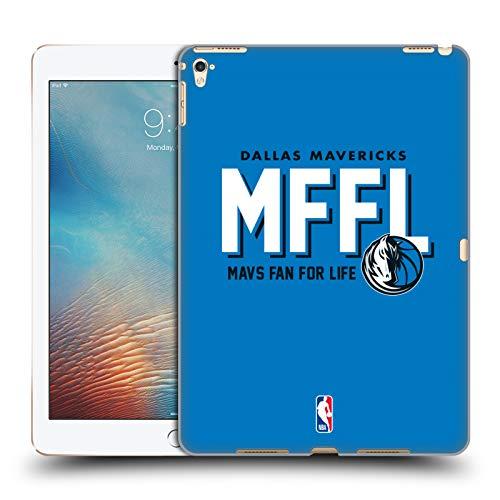 Head Case Designs Offizielle NBA Mavericks Mavs Fan for Life 2018/19 Team Slogan Harte Rueckseiten Huelle kompatibel mit iPad Pro 9.7 (2016)