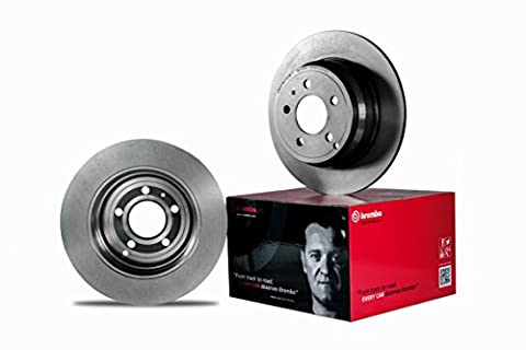 Brembo 09.9764.23 Front Composite / Floating, UV Coated Brake Disc - Single Piece