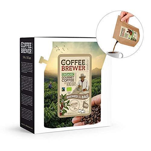 Coffeebrewer, Kaffee-Geschenk-Set, 5er-Sortiment, die Reisekaffee-Box (MEHRWEG)