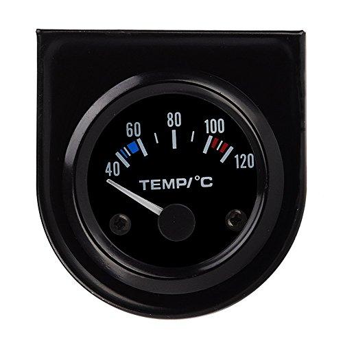 Traktor-display (Amazingdeal 365 Auto LED-Displays 40 ~ 120 ℃ Wassertemperaturanzeige Auto Temperatur Celsius Zeiger leichter Spannungsmesser Thermometer)