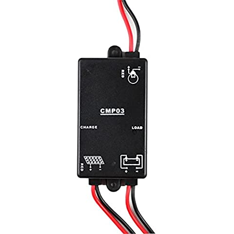 Y-SOLAR Mini Solar Charge Controller 3A 6V Load On 24hours
