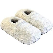 Körner-Sox Zapatillas térmicas Pantuflas de Granos para el microondas ...
