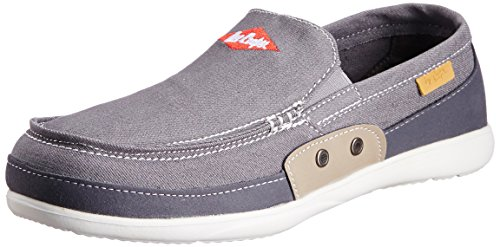 Lee Cooper Men's Grey Running Shoes - 9 UK  available at amazon for Rs.1349