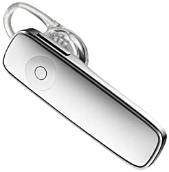 Plantronics M165 Marque 2 Ultralight Bluetooth Headset - Frustration-Free Packaging - White