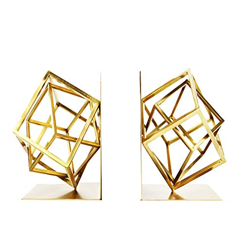 SANQING Buch Steht Edelstahl Plating Titanium Crystal Decorative Creative Home Ladder Desktop Ornamente