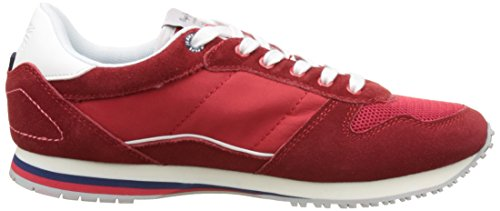 Pepe Jeans Jungen Sydney Color Low-Top Rot (Pepper Red)