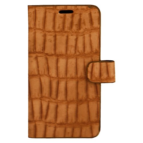Zocardo Faux Leather Universal Diary Flip Cover Case with Inner Pocket for Xolo Era 4K - Brown