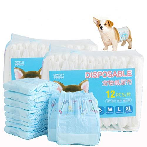 Hundeschutzhose Männliche Haustier Hundewindeln Belly Wrap Sanitär Windel Physiologische Unterwäche Für Die Ausbildung (Size : XL) (Inkontinenz-wraps Rüden)