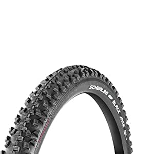 Schwalbe Black Jack Active Wired Tyre with Kevlarguard SBC 260 g (47-203) - 12 x 1.90 Inches, Black