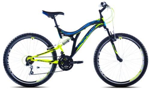Capriolo Mountainbike 26 /CTX260/, MTB, Shimano 18 Gang, vollgefedert, farbige Bautenzüge