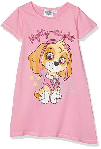 PAW PATROL Mädchen 6070 Nachthemd, Pink Rose, 6 Jahre