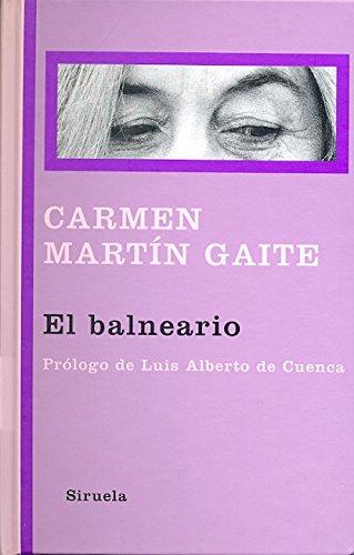 El balneario (Libros del Tiempo) por Carmen Martín Gaite