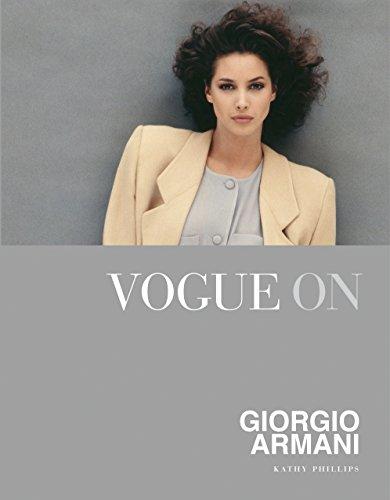 Vogue on Giorgio Armani (Vogue on Designers) (Künstlerinnen Kostüm)