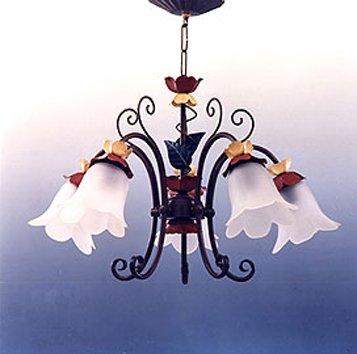 Lámparas de forja : Colección SUSANA. de 60x38cms
