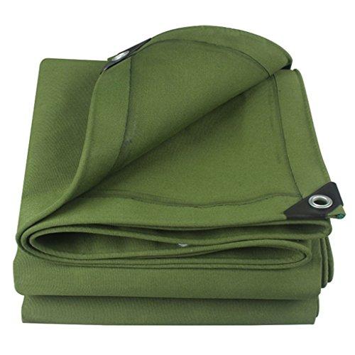 Galleria fotografica YUJIE Telo Impermeabile Telo Coprimoto Per Auto Tenda Per Tenda Da Campeggio Telo Verde - Protezione UV, A Prova Di Umidità, Opzioni Multi-size (dimensioni : 6MX10M)