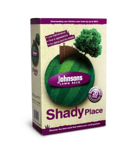 Johnsons Lawn Seed endroit ombragé 250g package correctif en carton