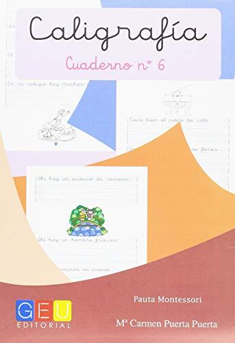 Caligrafía con Pauta Montessori - Cuaderno 6