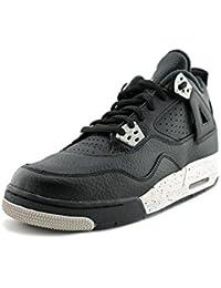 huge selection of 85817 90881 Jordan Air Jordan 4 Retro Youth UK 4 Black Basketball Shoe EU 36.5