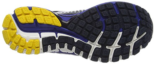 Brooks Defyance 9 M, Scarpe da Corsa Uomo Multicolore (Peacoat/Surf the Web/Lemon Chrome)