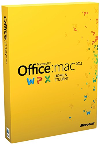 Microsoft Office for Mac Home and Student 2011 - Lizenz