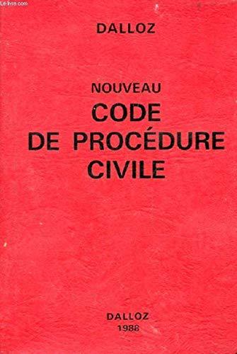 Nouveau code de procédure civile : Code de procédure civile et code de l'organisation judiciaire extr. (Codes Dalloz)
