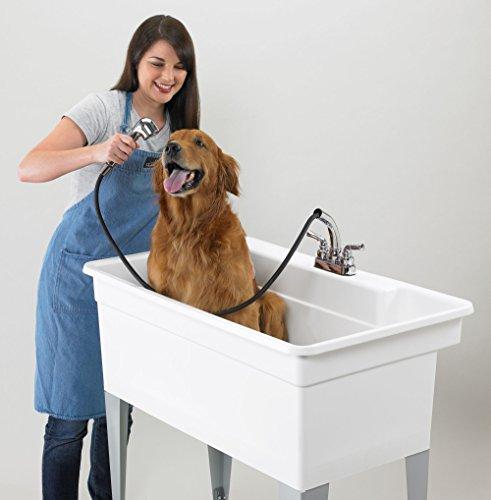 Big Benny XXL Waschtrog Ausgussbecken Waschbecken Hundebadewanne