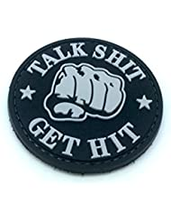 Talk Shit Get Hit PVC Airsoft Patch