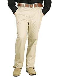 Crocks Club Tan Color Cotton Trouser For Men