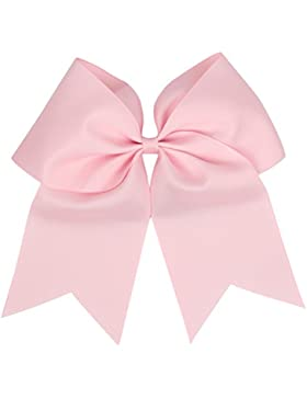 Zhhlaixing Sweet Girls Dual Bows Style Boutique Super Large Bowknot Hair circle