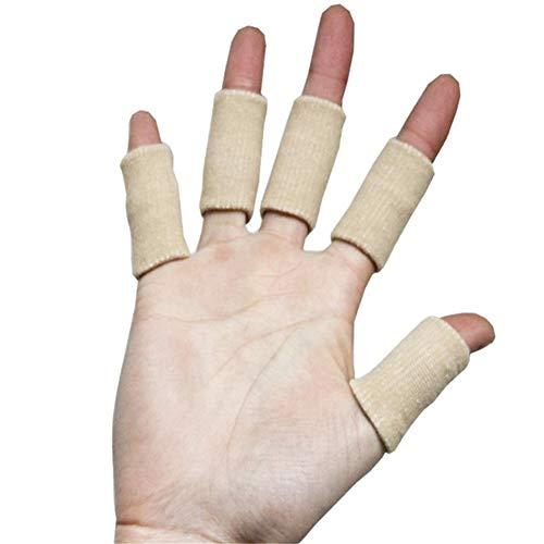WLIXZ Erwachsene Finger-Klammer-Schiene-Hülse, Daumen-Stützschutz, weiches bequemes Kissen-Druck sichere elastische Breathable Stabilisatoren,Flesh