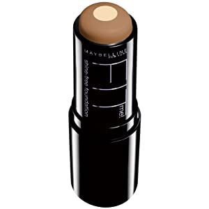 Maybelline New York Fit Me Oil-Free Stick Foundation, 0.32 Ounce (Coconut, 335)
