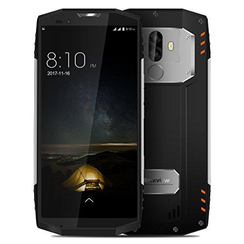 """Blackview BV9000 PRO - 5.7"""" Zoll FHD (18: 9 alle Bildschirm) Gorilla Glas 6GB RAM + 128GB ROM IP68 Wasserdicht/Shockproof Smartphone 8MP + 13MP Kamera Fingerabdruck Silver"""