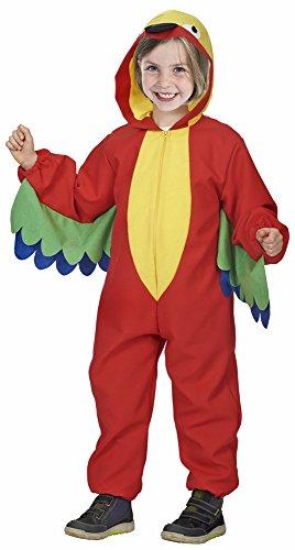 Bunter Papagei Filou Kostüm für Kinder - Gr. 128