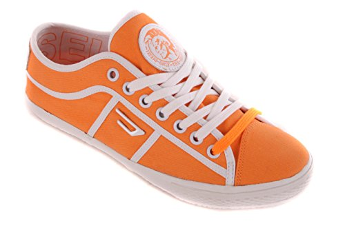 Diesel baskets baskets femme fermeture#53 orange Arancione (arancione)