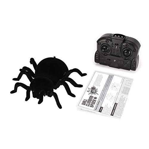 ARDUTE FY878 Infrared Remote Control Wall Climbing Realistic Spider RC Prank Insect Joke Scary Trick Toy Kid Gift Halloween Party