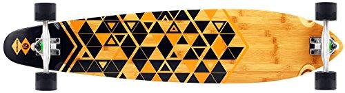 Ninetysixty Kickpin Komplett Longboard, Bambus Furnier, 109 cm