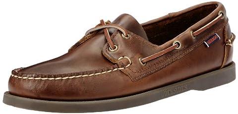 Sebago Docksides, Chaussures Bateau Homme, Brun (Brun Huilé cireux ) 43.5 EU