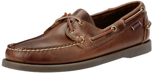 Sebago Docksides, Men Boat Shoes, Brown (Brown Oiled Waxy Lea), 9 UK (43 1/2 EU)
