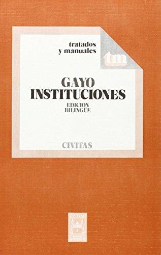 Instituciones (Manuales) por Gayo